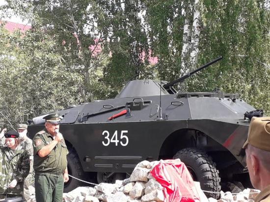 В Белоярском открыли монумент в память о погибших в локальных войнах