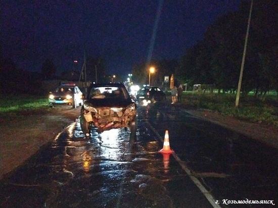В субботу на дорогах Марий Эл пострадали десять человек
