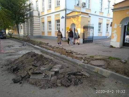 По трем улицам Калуги завершен дорожный ремонт
