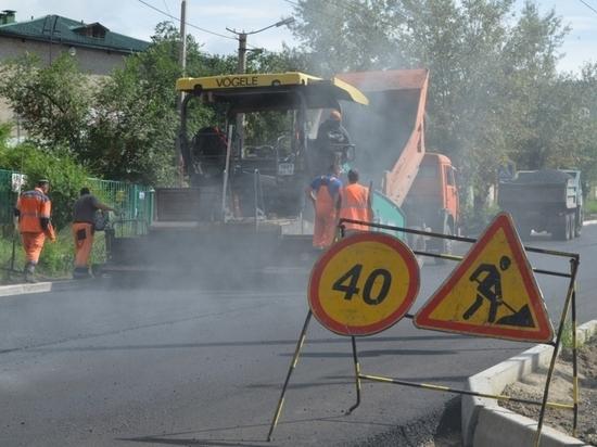 УГИБДД: Ремонт идет на более 100 участках дорог в Забайкалье