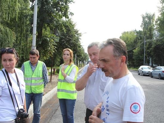 Общественники Йошкар-Олы проверили ремонтируемые по нацпроекту дороги