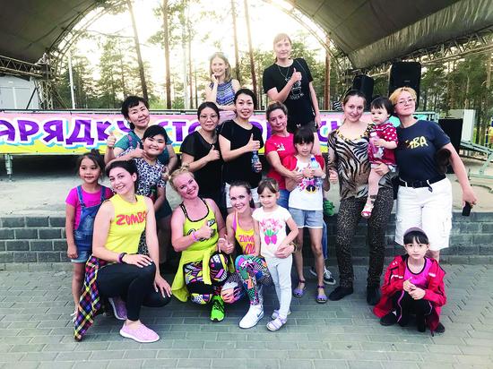 Танцевальная фитнес-программа из Колумбии вскружила голову жителям Улан-Удэ