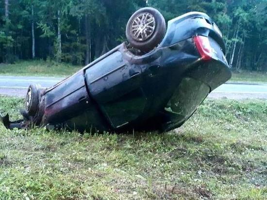 В Вельском районе водитель ушёл с места ДТП