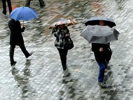 """В Москву придет осенняя погода с """"противными дождями"""""""