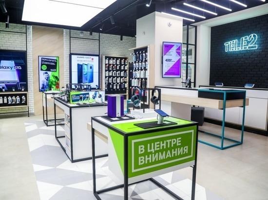 Tele2 расширила фирменную розницу в Архангельске