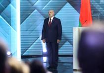 Президент Белоруссии Александр Лукашенко выступил с обращением к белорусскому народу и парламенту