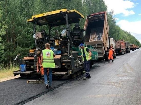В Марий Эл ремонтируют дорогу Звенигово-Помары