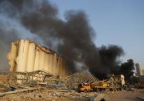 В порту Бейрута 4 августа произошел редкой силы взрыв