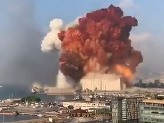При взрыве в Бейруте погибли 50 человек, ранены 2,8 тысячи