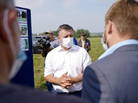 Глава Иркутской области дал старт уборочной кампании в Приангарье
