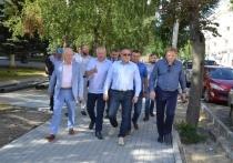 Александр Иванов оценил ремонт дороги на Луначарского