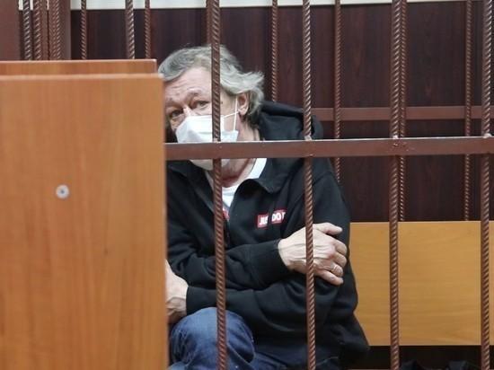 Ефремова увезли в суд на первое заседание по существу дела о ДТП