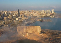 Взрыв в порту Бейрута 4 августа разрушил почти полгорода