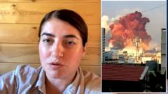 """Россиянка из Бейрута описала взрыв: """"Было слышно за 40 км"""""""