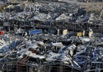 Полуразрушенный взрывом многотонного груза селитры в порту Бейрут оказался в центре мировых новостей
