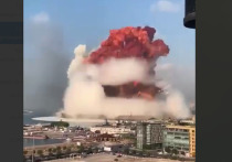 Военный эксперт Олег Желтоножко в интервью РИА «Новости» заявил, что розовый цвет дыма при взрыве в порту Бейрута связан с поднявшейся в воздух водой