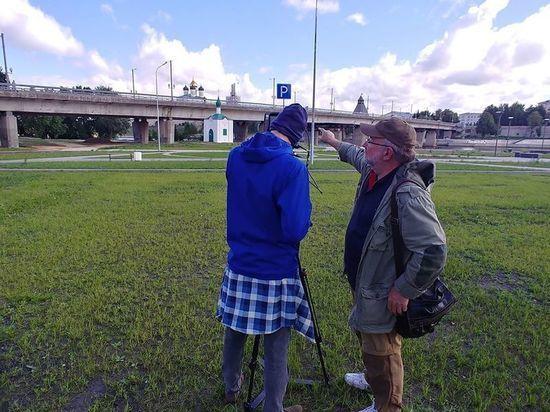 Известный режиссёр в Пскове снимает фильм об Анастасиевской часовне