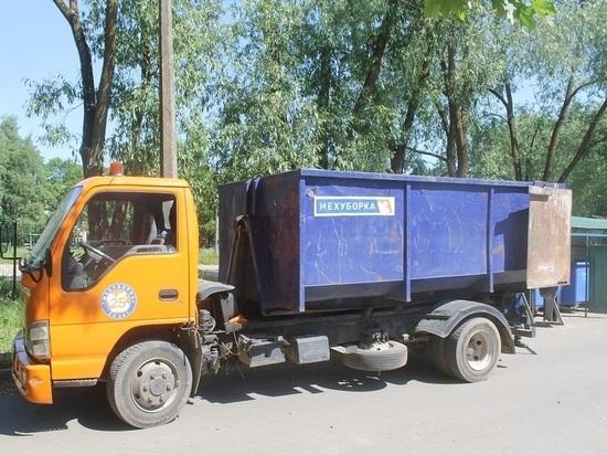 В Новосокольническом районе изменится график вывоза крупногабаритных отходов