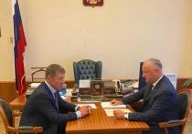 Игорь Додон в Москве провел рабочую встречу с Дмитрием Козаком
