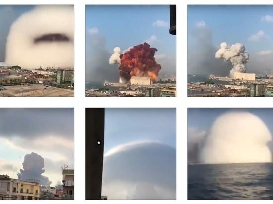 Роскосмос опубликовал снимки порта Бейрута, сделанные до взрыва в порту, прогремевшего 4 августа, и поле него