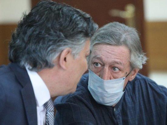 Михаил Ефремов выказал трусость в суде