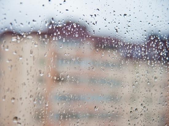 На Волгоград обрушился сильнейший ливень