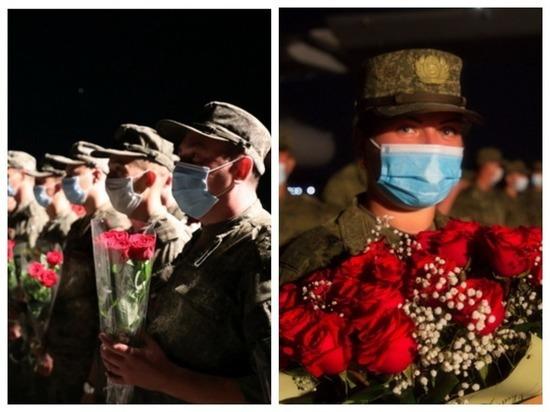 Военные медики вернулись в Новосибирск из Сирии