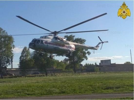 """""""Тяжелого"""" пациента доставили вертолетом в Тверь"""