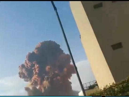 Трамп засомневался, что взрыв в Бейруте был нападением