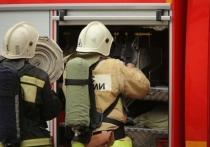 Под Волгоградом на пожаре пострадал человек