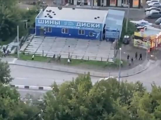 Мигранты устроили массовую драку со стрельбой в Красноярске из-за женщины
