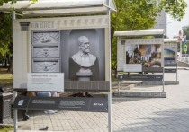 Фотовыставку уникальных произведений искусства открыли в центре Новосибирска