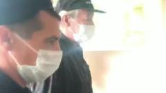 Михаил Ефремов приехал на третье заседание в Пресненский суд