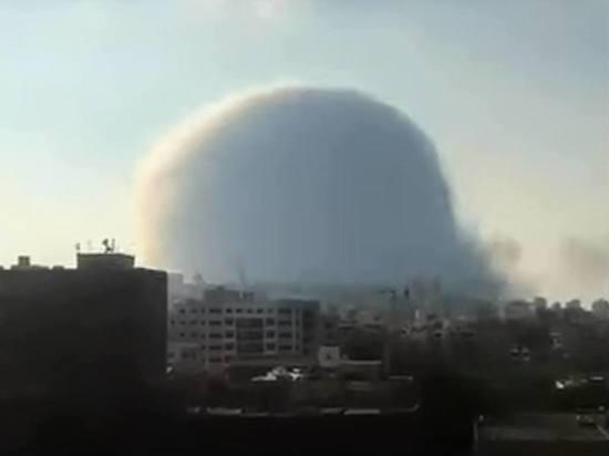 Президент Ливана не исключил, что в Бейруте была взорвана бомба