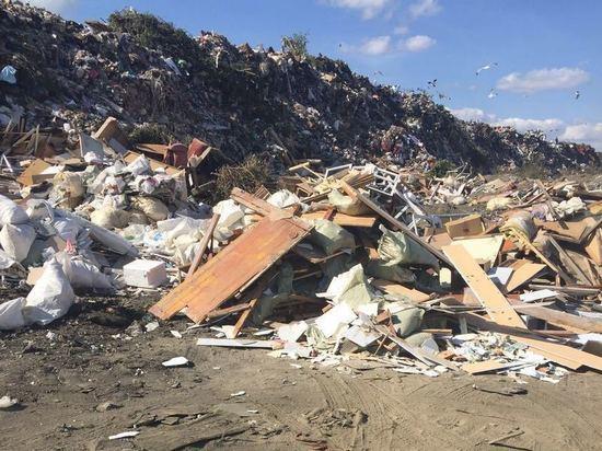 Незаконную свалку с токсичными отходами обнаружили в Дагестане