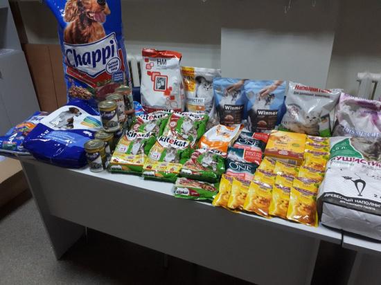 Кировчане собрали 70 кг кормов для собак и кошек