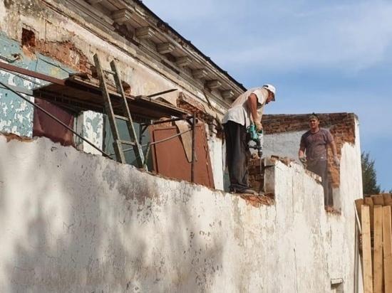 В Козьмодемьянске реставрируют дом купца Свешникова