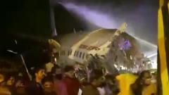 В Индии совершил жесткую посадку самолет авиакомпании Air India