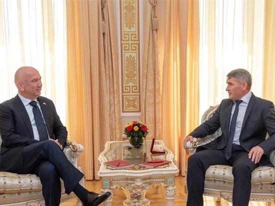 Олег Николаев встретился с министром инноваций и технологического развития Сербии
