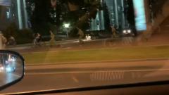 Войска в центре Минска погнались за велосипедистами