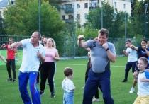 В Калуге министры вышли на Олимпийскую зарядку