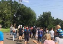Красноярцы вышли на митинг в поддержку Хабаровска