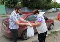 Жителям Саратова раздавали бесплатное мясо