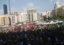 В центре Бейрута начались массовые беспорядки