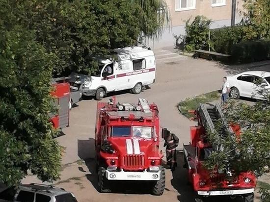 В Каменске сгорела квартира в пятиэтажке
