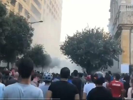 Ливанские силовики открыли огонь по демонстрантам в Бейруте