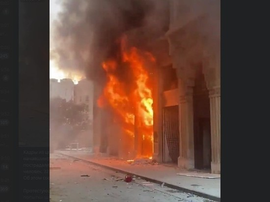 Ливанские протестанты убили силовика