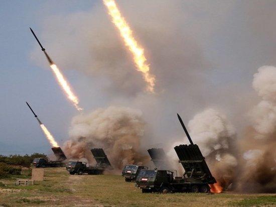 В США смоделировали нападение КНДР на Южную Корею
