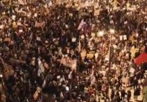 Около 15 тыс. израильтян вышли на митинг у резиденции Нетаньяху в Иерусалиме
