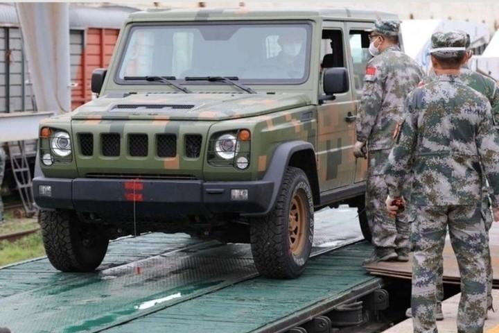 Китайские танки прибыли в Новосибирск - МК Новосибирск